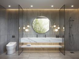Badkamer wrappen met interieurfolie