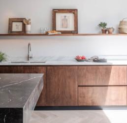 Keuken hout interieurfolie