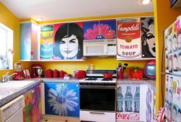 Keuken met fullcolour print